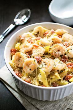 Baked parmesan crevettes!  Apportez le goût emblématique de Olive Garden de & hellip;  http://ift.tt/1UzklFX
