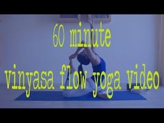 60 Minute Vinyasa Yoga Video — YOGABYCANDACE