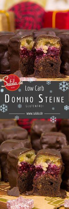 Low Carb Dominosteine schmecken viel besser als gekaufte Dominosteine. Und wenn Du uns nicht glaubst, dann probier diese Rezept. Du wirst überrascht sein! - salala.de
