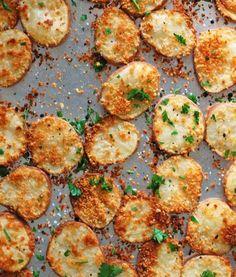 Parmesan Potato Rounds.