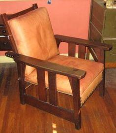 early gustav Stickley morris chair