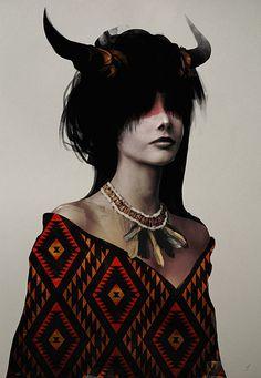 Spirit Series by Jeff Langevin, via Behance