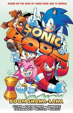 Sonic Boom Vol. 2: Boom Shaka-laka by Sonic Scribes