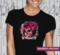 Black lamb t-shirt - La bella muerte http://blacklamb-store.com/la-bella-muerte-tetovalasmintas-ni-polo.html