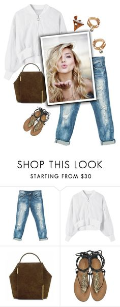 """""""Street style"""" by janemichaud-ipod ❤ liked on Polyvore featuring Sans Souci, Onesixone, Roberto Cavalli and Mulberry"""