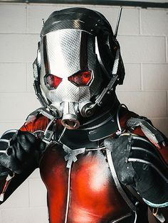Ant-man   The Best Cosplayers from London's Comic Con