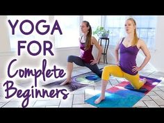 Yoga for Complete Beginners to Improve Flexibility | 25 Minute Relaxing Stress Relief Stretches - YouTube