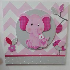 Cuadros Decoración Para Cuartos De Bebé. #art #kids #deco #baby #girl Baby Shawer, Baby Box, Projects For Kids, Art Projects, Baby Door Hangers, Leaf Art, Scrapbook, Newborn Gifts, Handmade Home Decor