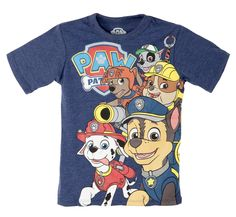 Amazon.com: Nick Jr. Paw Patrol Little Boys Toddler Graphic Tee Shirt: Clothing