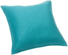 Brentwood Channel Stitch 18-Inch Pillow, Turquoise