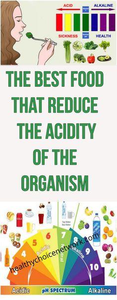 #best #food #reduce #acidity #organism #alkaline #ph #balance