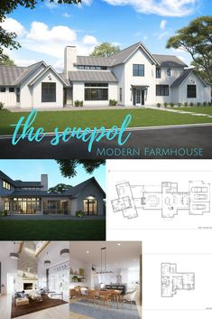 Dreaming of a Modern Farmhouse? Build your dream home today! Modern Farmhouse Floor Plan, Modern Farmhouse Design, Modern Farmhouse House Plan, Farmhouse Floor Plan, Farmhouse Design, Farmhouse House Plan, Modern Farmhouse Plan, Farmhouse Plan, Farmhouse Kitchen, Farmhouse Living, Modern Farmhouse Kitchen, Modern Farmhouse Living.