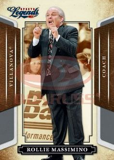 2008 Donruss Americana Sports Legends (Entertainment) Card # 62 Rollie Massimino - Villanova - Basketball Card Trading Card by Donruss. $1.87. 2008 Donruss Americana Sports Legends (Entertainment) Card # 62 Rollie Massimino - Villanova - Basketball Card Trading Card