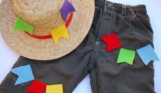 Se você foi convidado para uma festa junina, mas não tem roupa típica para usar, basta customizar um