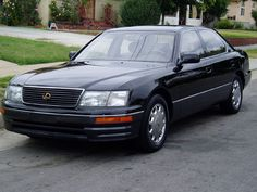 Our 2nd Lexus. This was one classy car. We had it several years. I totalled it and bought a 98.