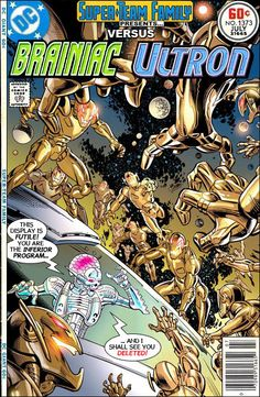Super-Team Family: The Lost Issues!: Brainiac Vs. Ultron