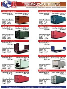 Shipping container dimensions is creative inspiration for us. Get more photo about home decor related with by looking at photos gallery at the bottom of this page. We are want to say thanks if you like to share this post to another people via your facebook, pinterest, google plus or …