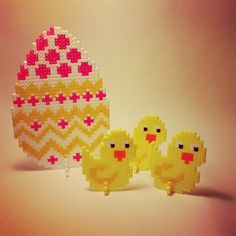 Easter hama perler beads by marias_univers