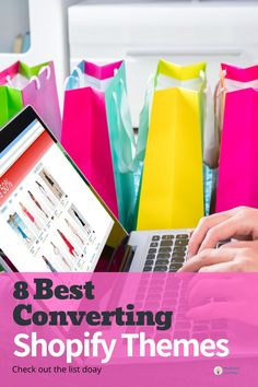 A list of the best Converting Shopify Themes so you can optimize your online store  #business #advice #entrepreneur #startup #guide #howto #shopify