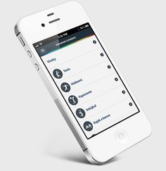 SOV iOS app by Martin Schurdak, via Behance