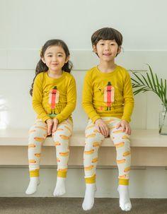Puco Kinderpyjama | Hotdog Gentleman | Little Wannahaves