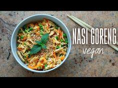 NASI GORENG | Version Végétalienne | Facile & Rapide à Préparer | Idéal Lunchbox - YouTube