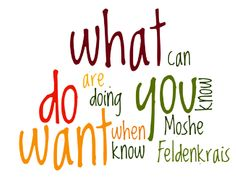 """Moshe Feldenkrais said, """"When you know what you're doing, you can do what you want.""""  When you're building a business, it's essential to answer the question, """"What do you WANT?"""" !!"""