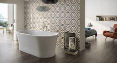 Amenajari Gresie si FaiantaFILTRE SELECTATELemnBaie Wall And Floor Tiles, Wall Tiles, Room Tiles, Grey Flooring, Tile Patterns, Porcelain Tile, Room Set, Mosaic Tiles