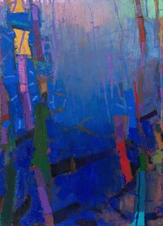 ♒ Art in the Abstract ♒ modern painting by Brian Rutenberg