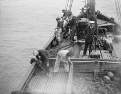 British fishermen had been using glass floats prior to WWI. (shared by Tom R.)