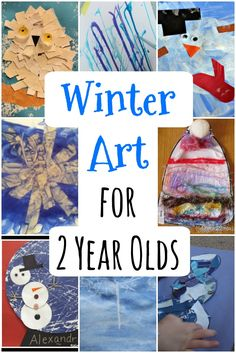 Winter Art for Toddlers