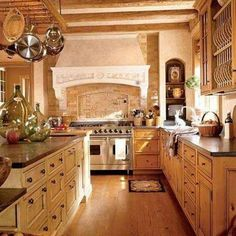 Pin On Tuscan Kitchens