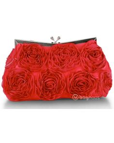 Delicate Rouge Evening Bag $36