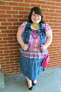 Unique Geek: Plus Size OOTD: In A World Of My Own #plussizefashionblogger #plussize #plussizefashion #plussizeblogger #plussizesummeroutfit #summerootd #modeststyle #modestfashion #plussizemodestfashion #modesty #churchoutfit #plussizechurchoutfit