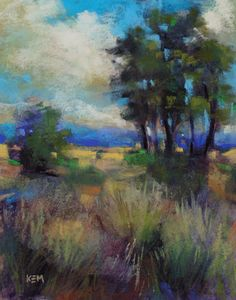 Painting My World: Advice for Flying with Pastels