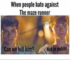 #wattpad #random Hola, aquí encontraras memes, chistes, datos sobre Maze Runner.