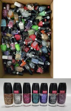 Nail Polish: 50 Piece Wet N Wild Nail Color Polish Lot BUY IT NOW ONLY: $34.95
