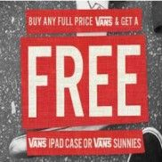 Free Vans Gifts with Purchase at City Beach Australia!