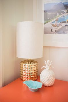 Mrs. Lilien's Colorful Tropical Living Room Makeover | Glitter Guide