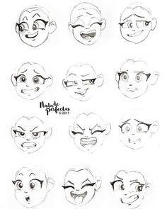 Por que dibujar es una de mis cosas favoritas! ☕️  ✏️ El jueves pasado practicaba expresiones mientras esperaba ser atendida por mi dentista! ;) Llevo mis herramientas artísticas a todas partes!   Buen lunes para todos y cada uno de ustedes...