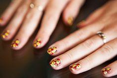 YSL Resort 2012 Inspired Nails 9 by ebmonson, via Flickr