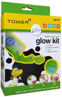 You don't have to be afraid of the dark anymore! Make your own glow in the dark bouncing balls and glow goo!