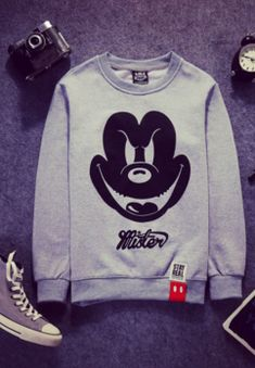 fb8f581ca5c5cc Evil Mickey Sweatshirt from FaceGram. Online Fashion StoresOnline ...