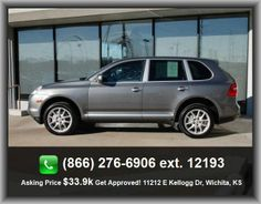 2008 Porsche Cayenne S SUV  Privacy Glass, Power Locks, 3-Point Seat Belts, Cassette, Side Curtain Airbags, Heated Seats, Full Size Spare Tire, Reading Lights, Fog Lights, Power Windows,