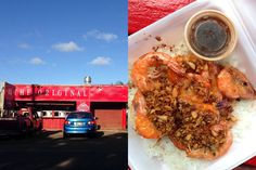 Romys for the win! Best Kahuku Shrimp Truck: Giovanni's, Romy's, Fumi's? - Biting Commentary - January 2014 - Honolulu, HI