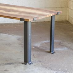 Bold MFG's Kindred Series is our most versatile line of table base products. The beauty of this series is the flexibility in the design which allows easy customization of dimensions, table leg style,