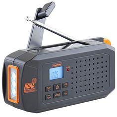 VonHaus NOAA Weather Channel Radio w/ Solar, Dynamo Hand ... https://www.amazon.com/dp/B01H3T6MU2/ref=cm_sw_r_pi_dp_x_Co6-xb30WF9Q8