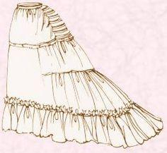 Enagua 1875