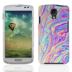 LG Volt LS740 Swirly Paint cover - Cell Cases USA