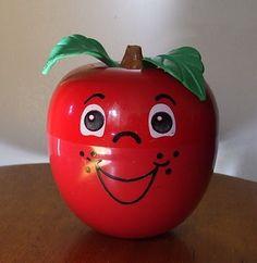 Fisher Price happy apple.